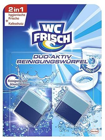 Super WC Frisch Duo-Aktiv Reinigungswürfel für Wasserkästen, 6er Pack (6 VZ68