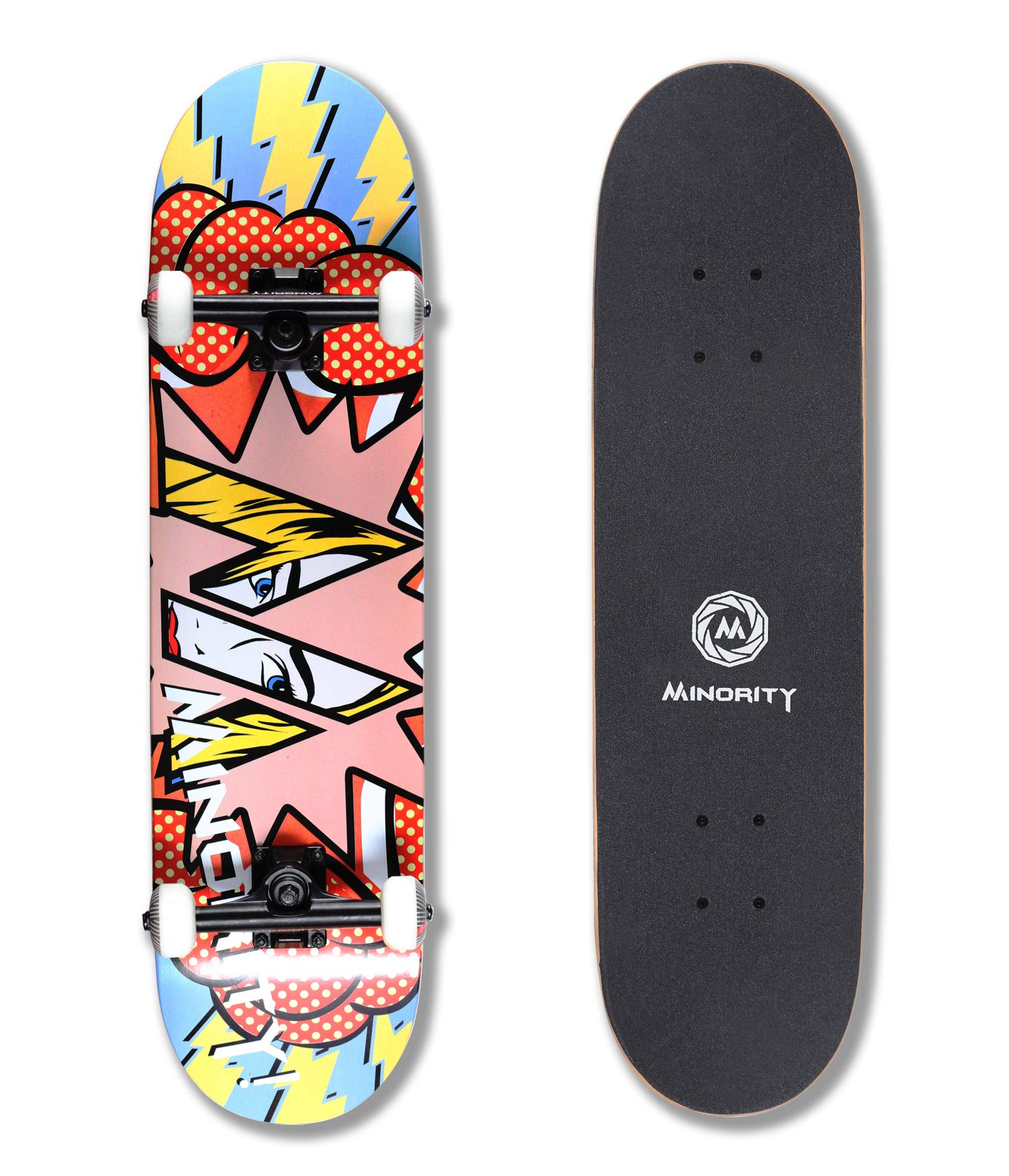 MINORITY 32inch Maple Skateboard (PopRD)