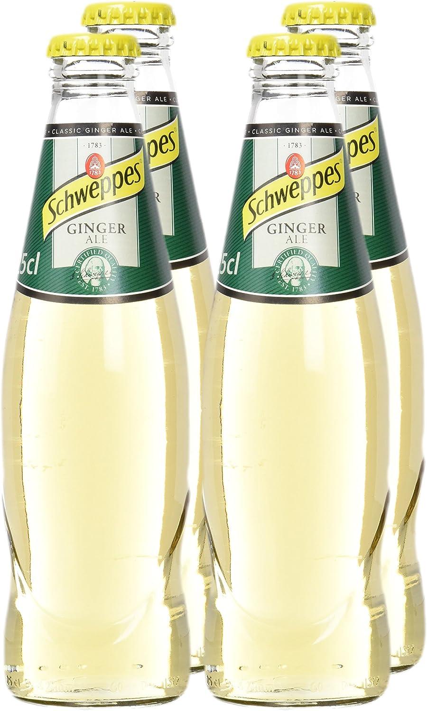 Schweppes Ginger Ale - Pack de 4 x 25 cl - Total: 1 l: Amazon ...