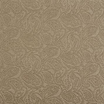 Amazon Com Sand Beige Woven Tone On Tone Paisley Brocade Upholstery