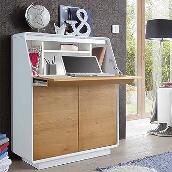 Lifestyle4living Sekretär Schreibsekretär Schreibtisch