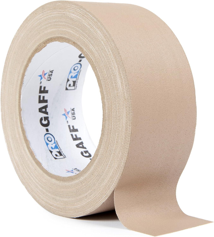 ProTapes//Permacel PROGAFF4825TA Cinta adhesiva de tela color beige