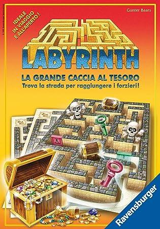 Ravensburger 26548 Labyrinth - Juego de Mesa (versión en Italiano) [Importado de Italia]: Amazon.es: Juguetes y juegos