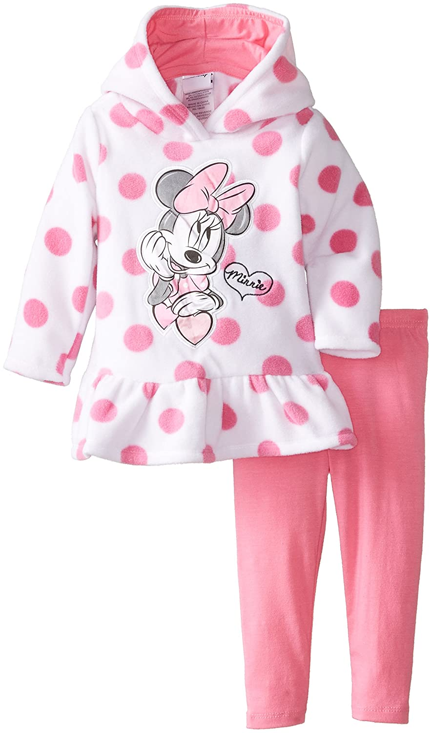 愛用 Disney Baby Girls ' Months Minnieマウス2 Piece Girls Polka Dotフリースセット Piece 12 Months Pink Medium B00K0A77CE, アイスケーキ専門店 リタティーノ:06dcba36 --- a0267596.xsph.ru