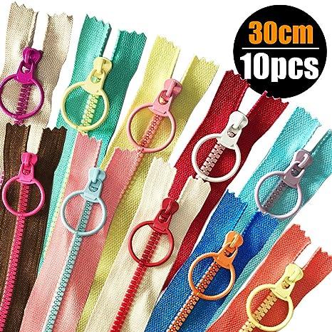 Spiral teilbar 180 cm lang 4,49 EUR//Stück in 10 Farben 1 Reißverschluss