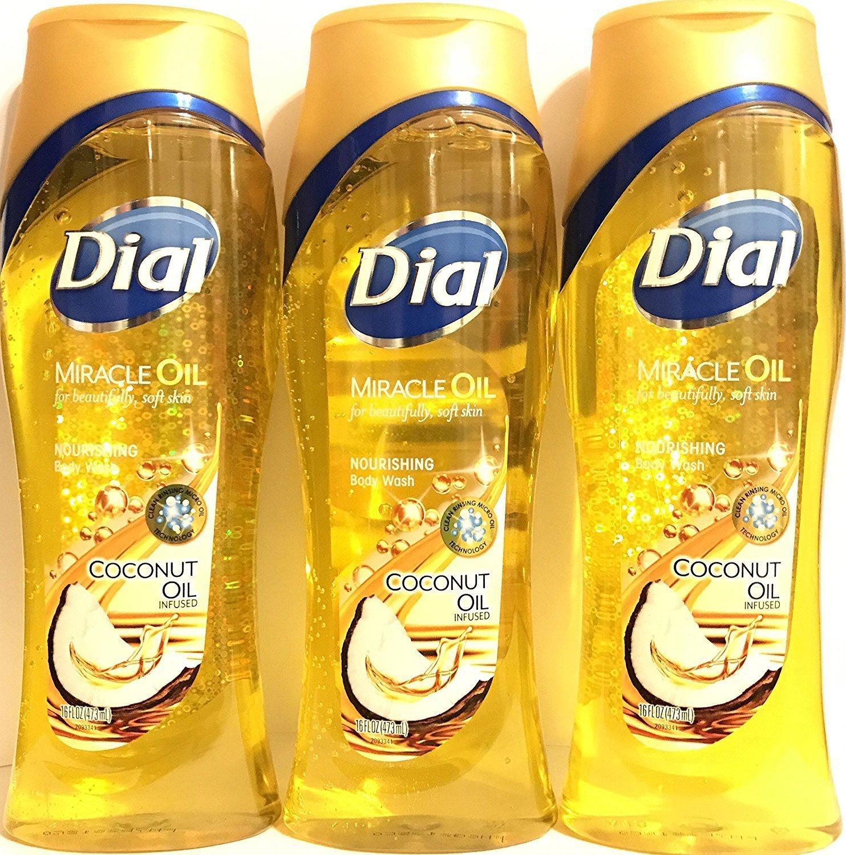 Dial Body Wash Coconut Oil 16 Ounce Nourishing (473ml)