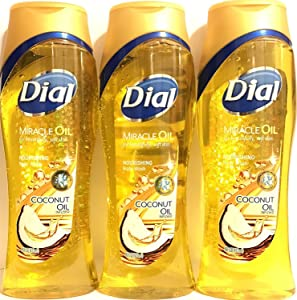 Dial Body Wash Coconut Oil 16 Ounce Nourishing (473ml)
