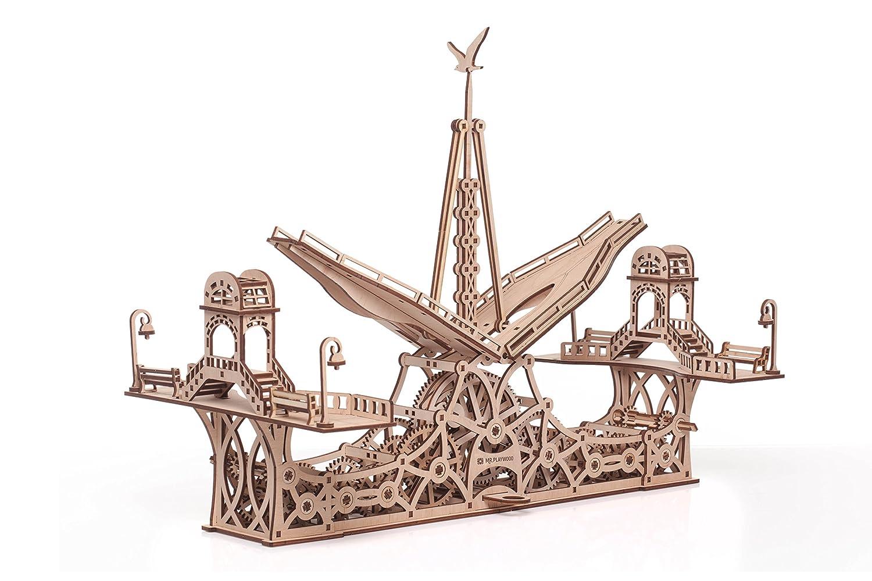 最大の割引 歩行者ブリッジ木製機械3dパズル B077RHMHD2 B077RHMHD2, JEUGIA ONLINE STORE:835bca03 --- clubavenue.eu