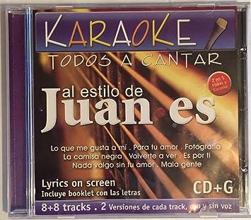 Karaoke Al Estilo de Juanes: Karaoke Al Estilo de Juanes ...