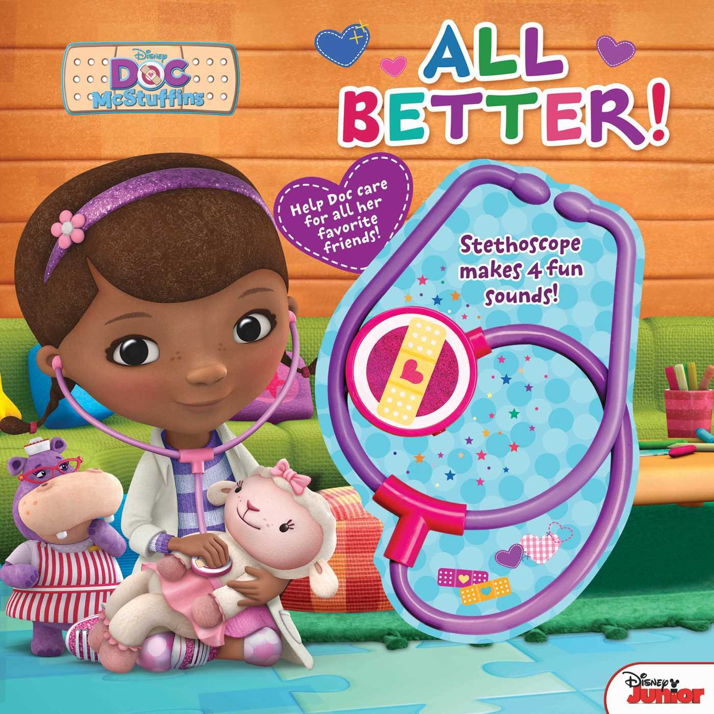 Read Online Disney Doc McStuffins: All Better! PDF