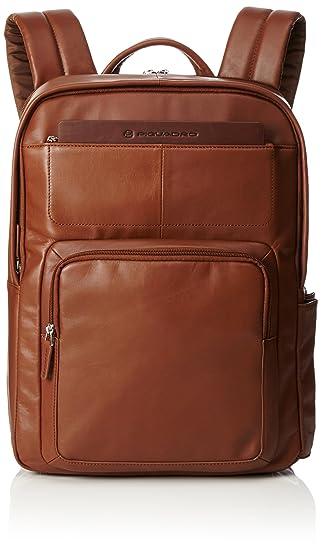 Piquadro Mochila de a Diario, marrón (marrón) - CA3869S88/M: Amazon.es: Equipaje