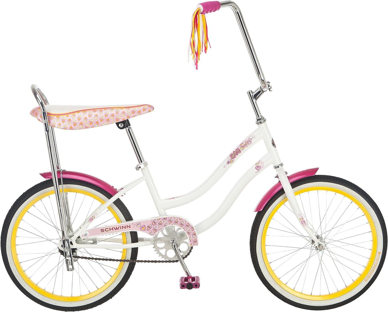 """New MATTE WHITE BANANA Bike BICYCLES SEAT SCHWINN style 16/"""" VINYL"""