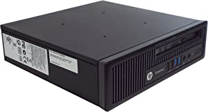 HP EliteDesk 800 G1 Ultra Slim Desktop PC, Intel Core i5-4570s 2.9GHz, 8GB DDR3 RAM, 500GB HDD, Win-10 Pro
