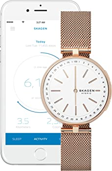 Skagen Connected Women's Signatur T-Bar Mesh Hybrid Smartwatch