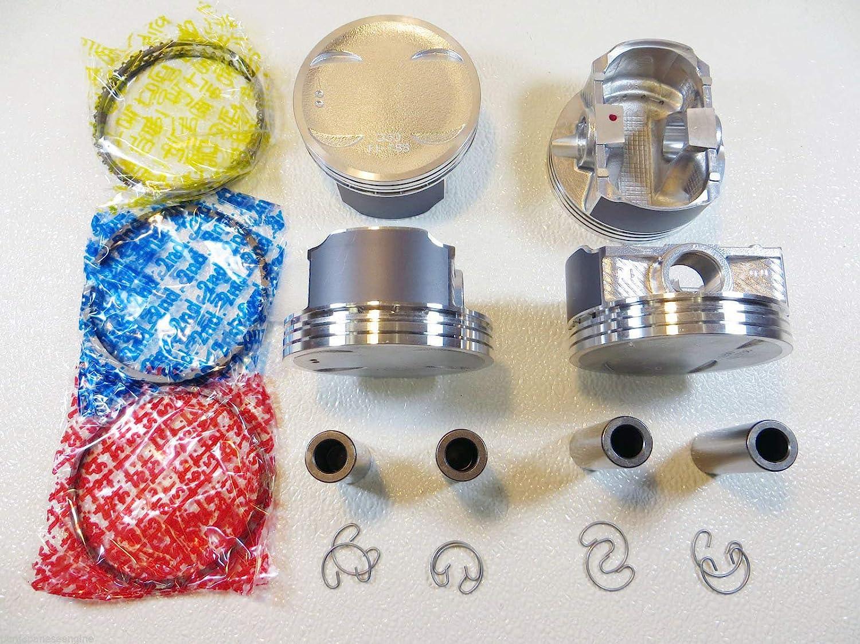 "For 00-06 Subaru Saab 2.5L SOHC .020/"" Oversize Pistons Ring Set .50mm"