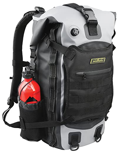 a3a75c81c95a Amazon.com  Nelson Rigg SE-3040 40 Liter Gear Hurricane 40L Waterproof  Backpack Tail Pack  Automotive