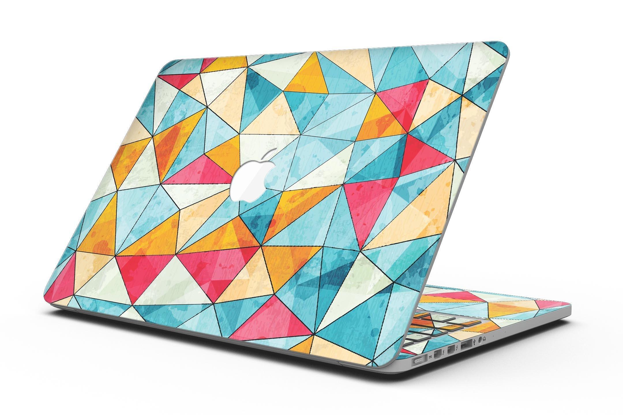 Triangular Geometric Pattern - MacBook Pro with Retina Display Full-Coverage Skin Kit