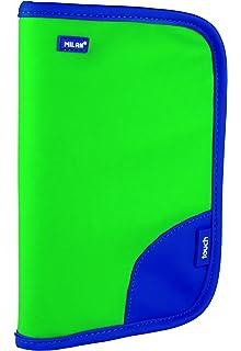 Milan Touch Duo Estuches, 21 cm, 0.7 litros, Azul: Amazon.es: Equipaje