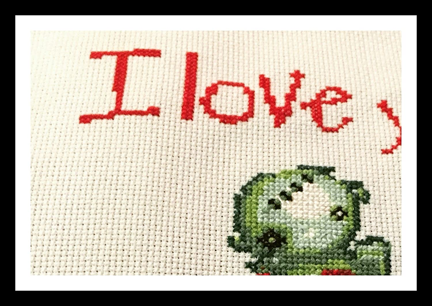 I love you to undeath. Counted Cross Stitch Pattern