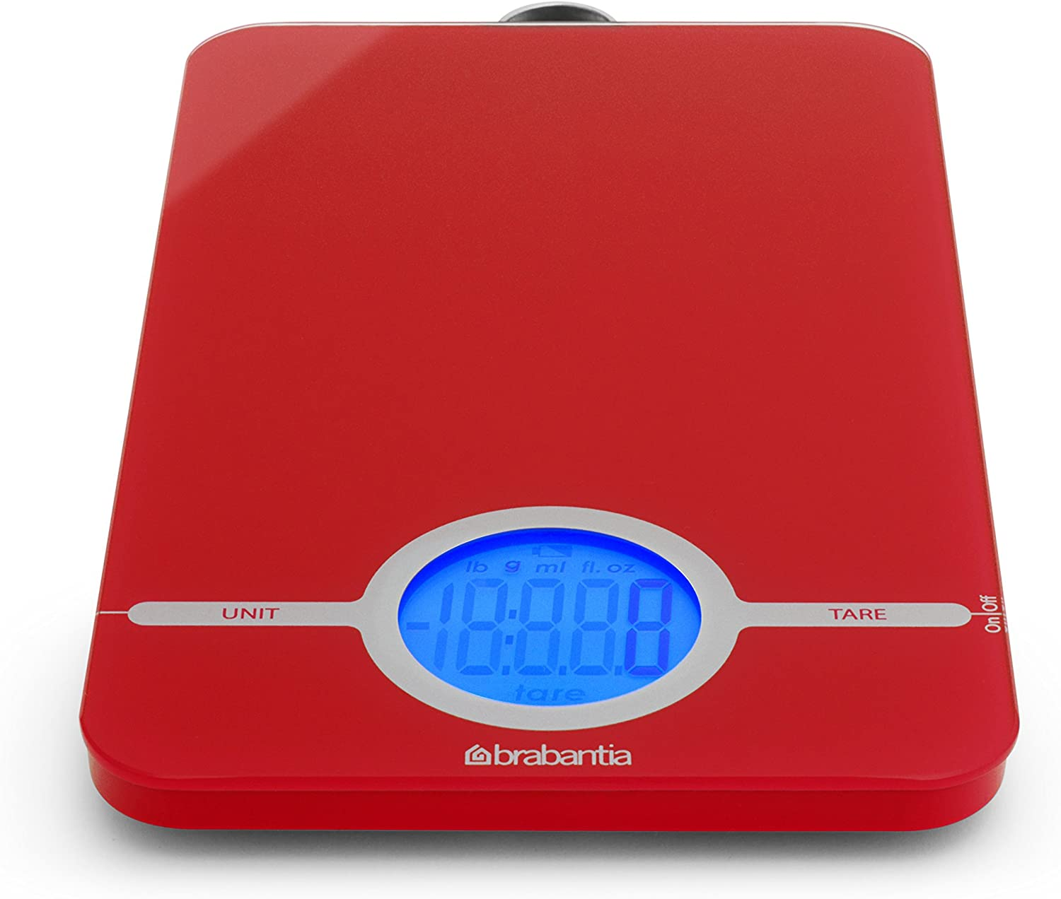Brabantia Digital Kitchen Scales - Red