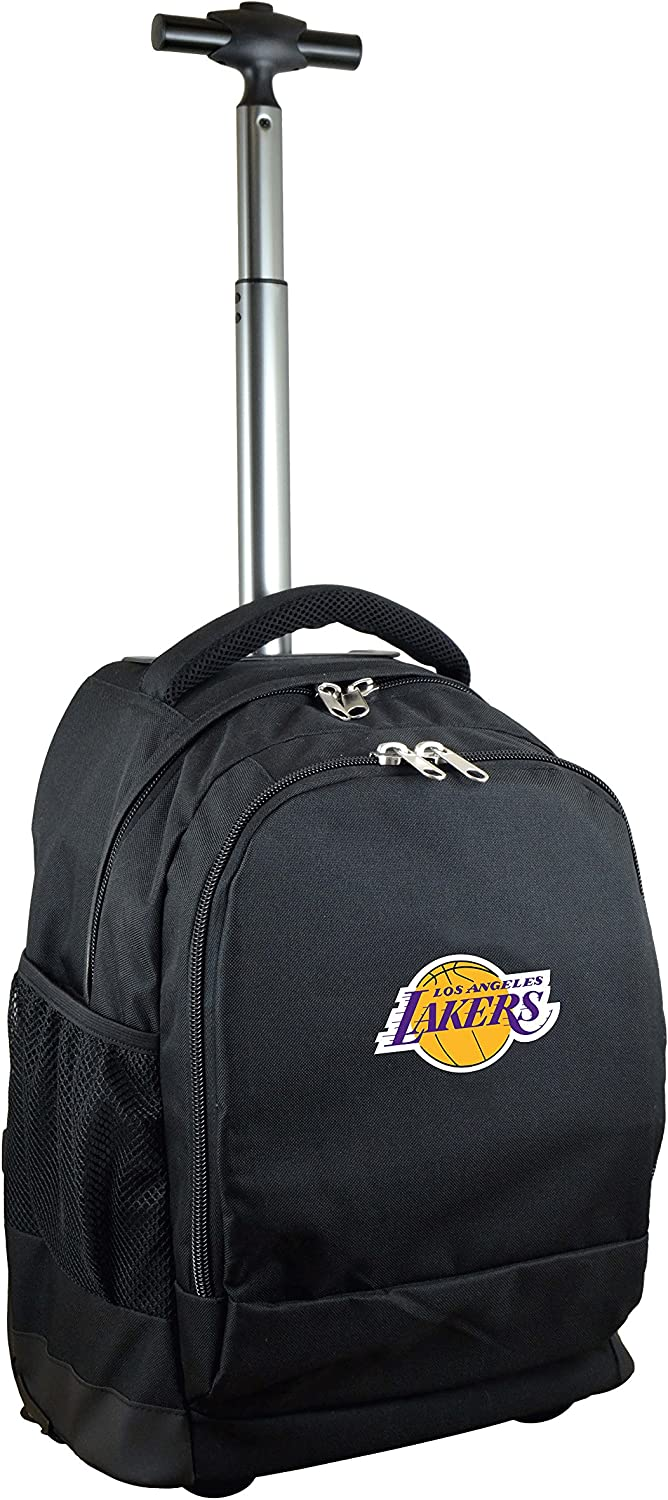 19-inches NBA Expedition Wheeled Backpack Black