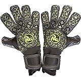 (アールジー)RG ゴールキーパー グローブ Snaga Black&Green スナガ ブラック & グリーン コンタクトブラックグリップ 緑