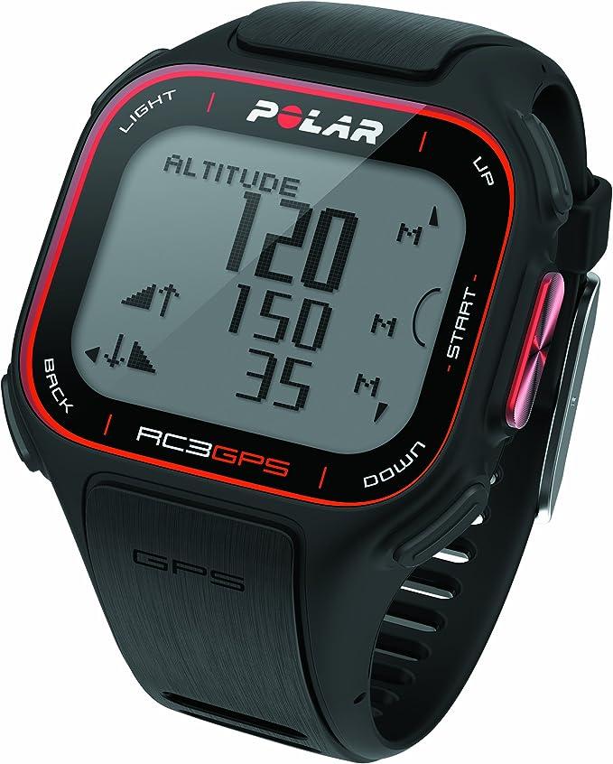 Amazon.es: Polar RC3 GPS HR - Reloj con pulsómetro y GPS integrado