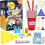 Wow Okay ! The Hilarious Challenges Family Games for Game Night,168 Card Games for Families & Party Game Fun Family Games for