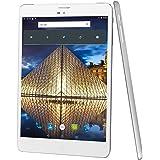 Winnovo M798 Tablet Pc 4G, 7.85 zoll Tablet Android 5.1 mit SIM Karte (Quad Core, 16 Go ROM, HD 1024x768, Doppelkamera, Bluetooth, Wifi) - Silbermetall