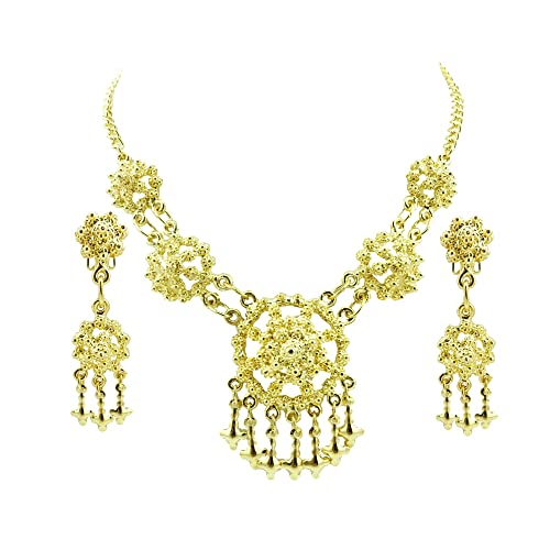 Traditional Jewelry Set Sterling 925 Silver Handmade Traditional Pendant Earring Easy And Simple To Handle Fine Jewelry Fine Jewelry Sets