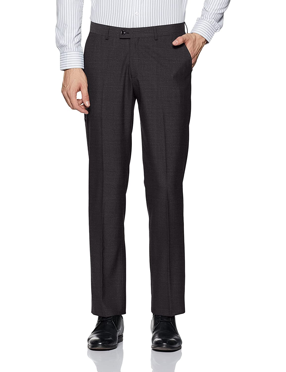 f04199dcaa3 blackberrys Men s Formal Trousers  Amazon.in  Clothing   Accessories