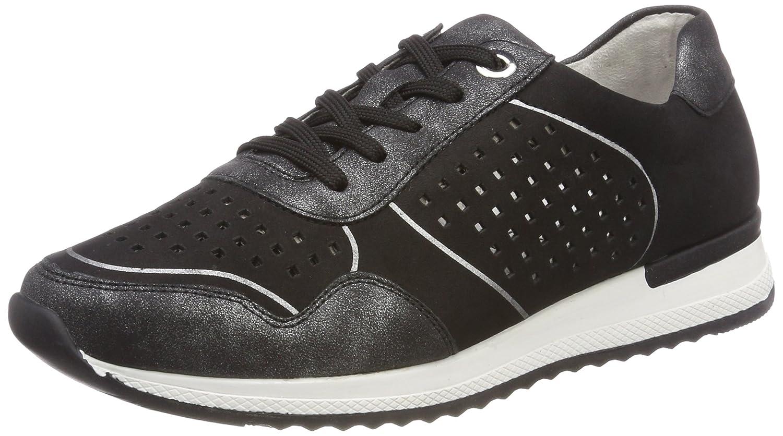 Remonte R7011, Zapatillas para Mujer 45 EU|Negro (Graphit/Schwarz)