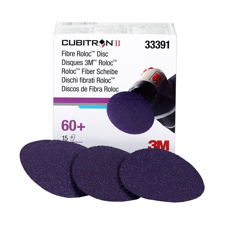 Cubitron 3M 33391 II 3' Fibre Roloc Disc - 15 Discs/Box
