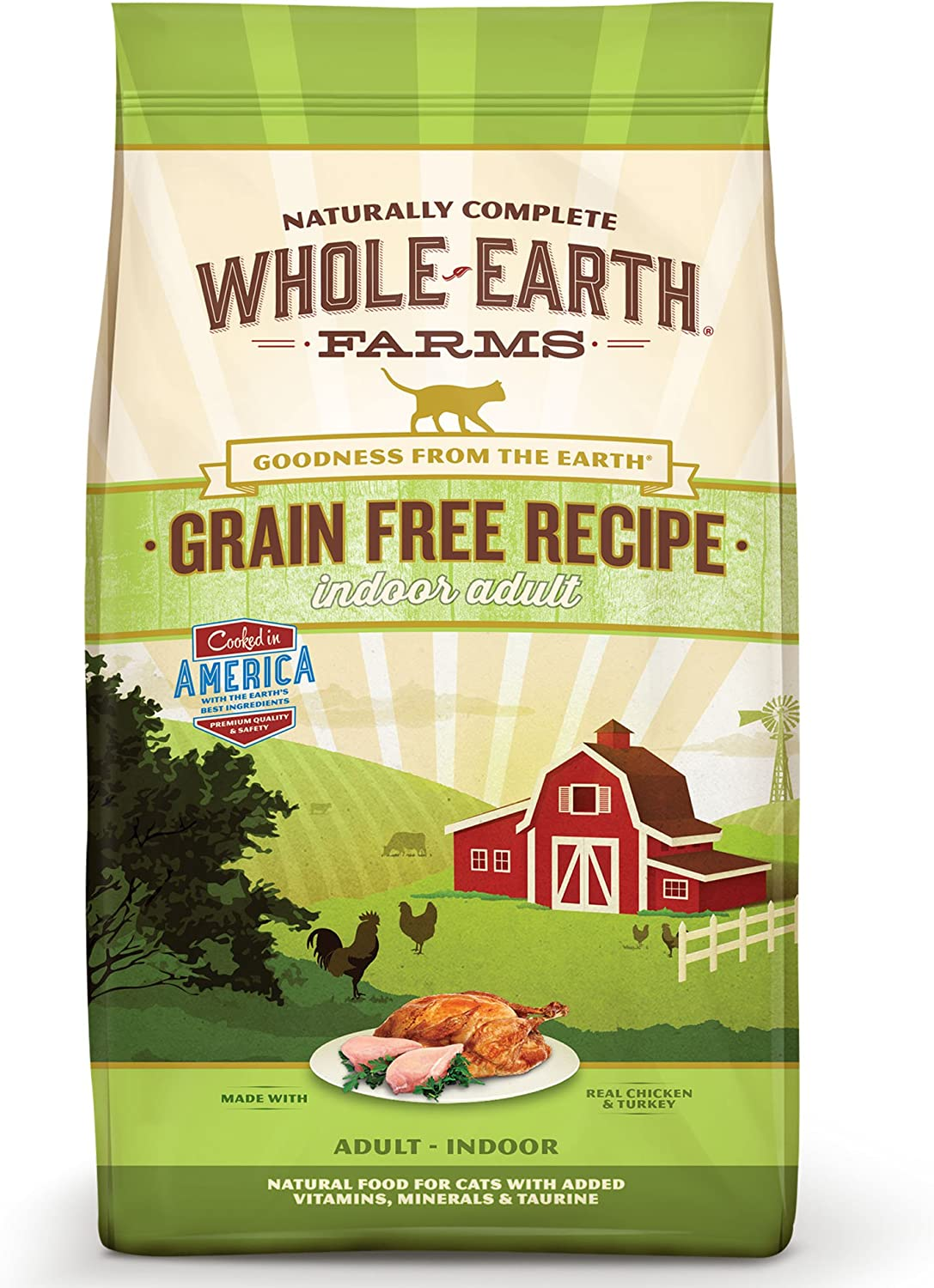 Whole Earth Farms Grain Free Dry Cat Food