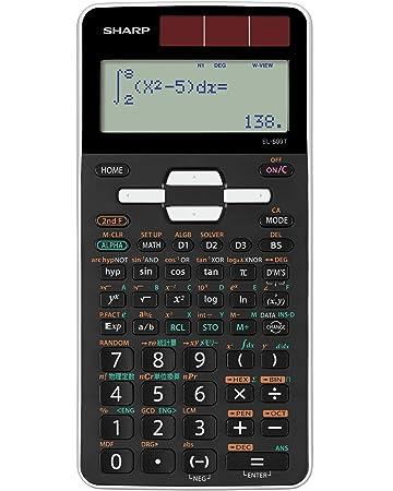 c33bae5d4c Amazon | シャープ 関数電卓 ピタゴラス スタンダードモデル EL-509T-WX ...