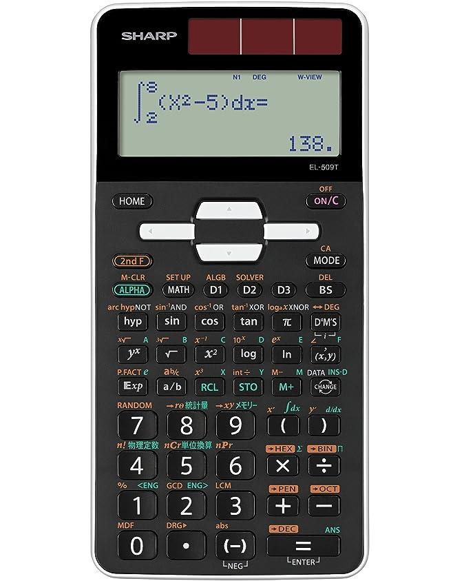 第ベルベット外交官シャープ Pythagoras スタンダード関数電卓 10桁 253関数?機能 EL-509F-X