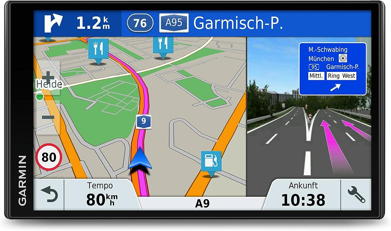 5 pouces Garmin DriveSmart 51 LMT-D Version UK//Allemagne GPS Auto Cartes 24 pays