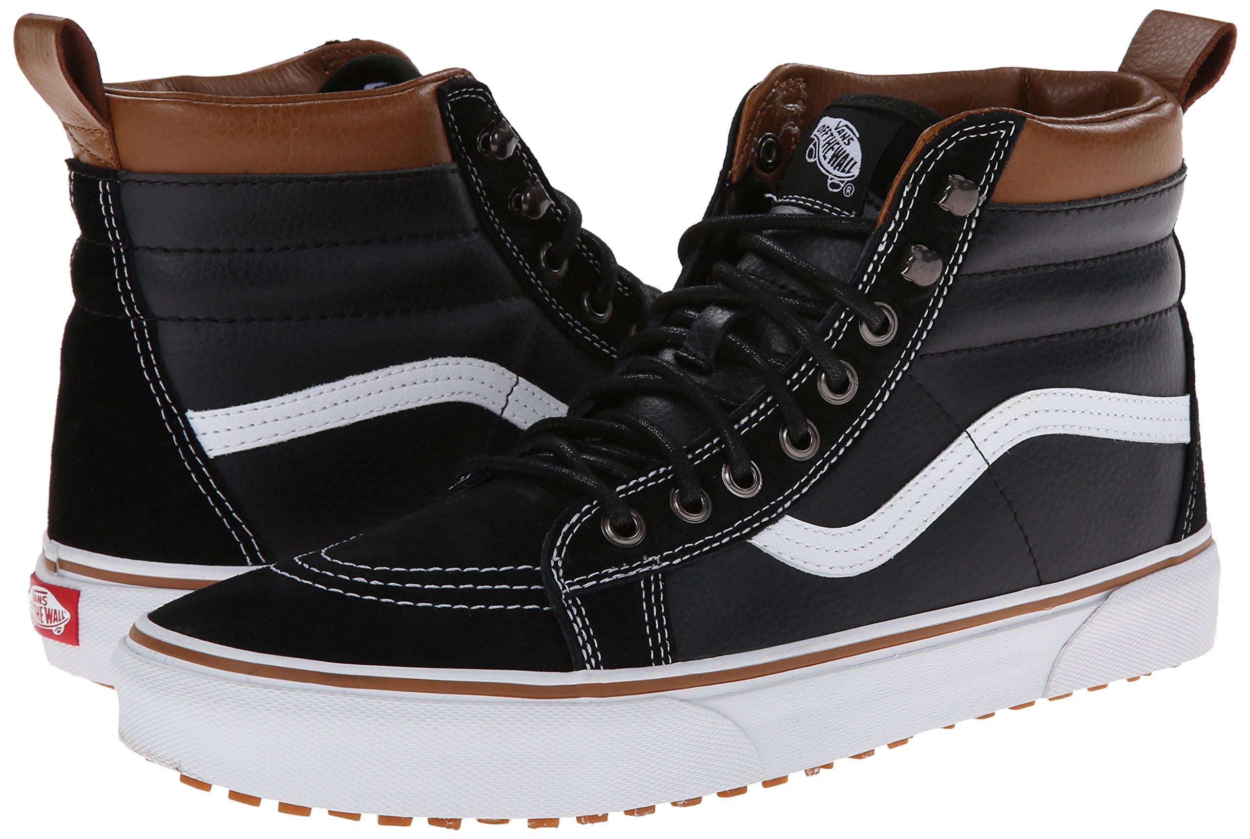 Vans Unisex Sk8-Hi MTE (MTE) Black/True White Skate Shoe 8.5 Men US/10 Women US by Vans (Image #6)
