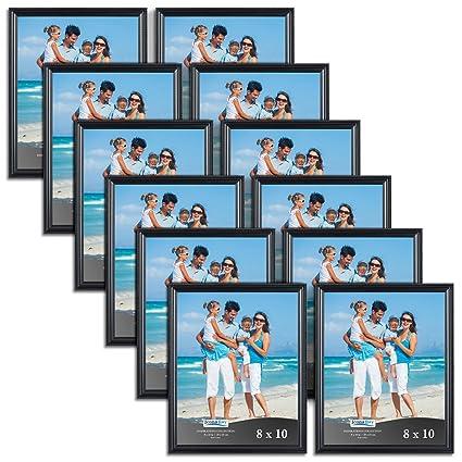 Amazon.com - Icona Bay 8x10 Black Picture Frames Bulk Set (8 x 10 ...