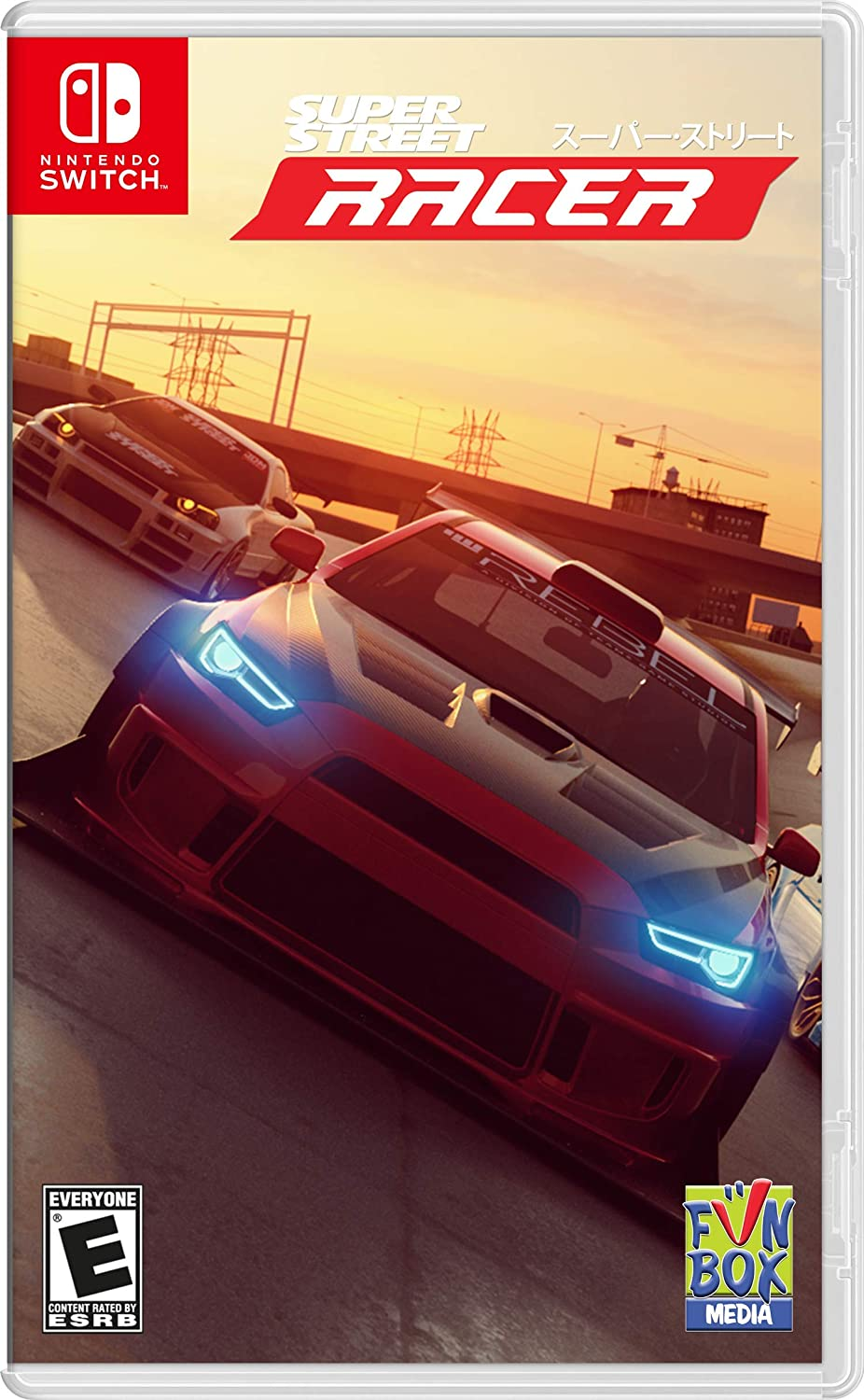 Super Street Racer for Nintendo Switch [USA]: Amazon.es: Gs2 Games ...