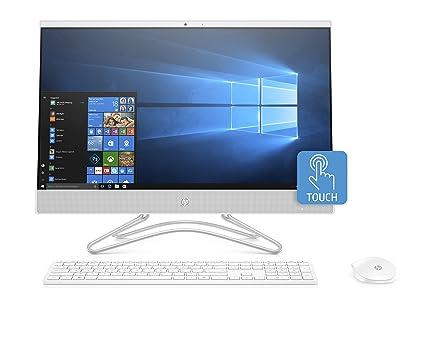 841cf9aa3f6 Amazon.com: HP 24-inch All-in-One Computer, Intel Core i5-8250U ...
