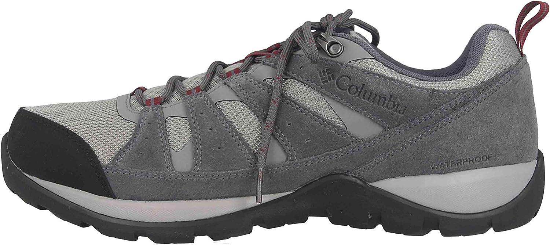 Columbia Redmond V2, Botas de Senderismo de Piel Impermeables Hombre
