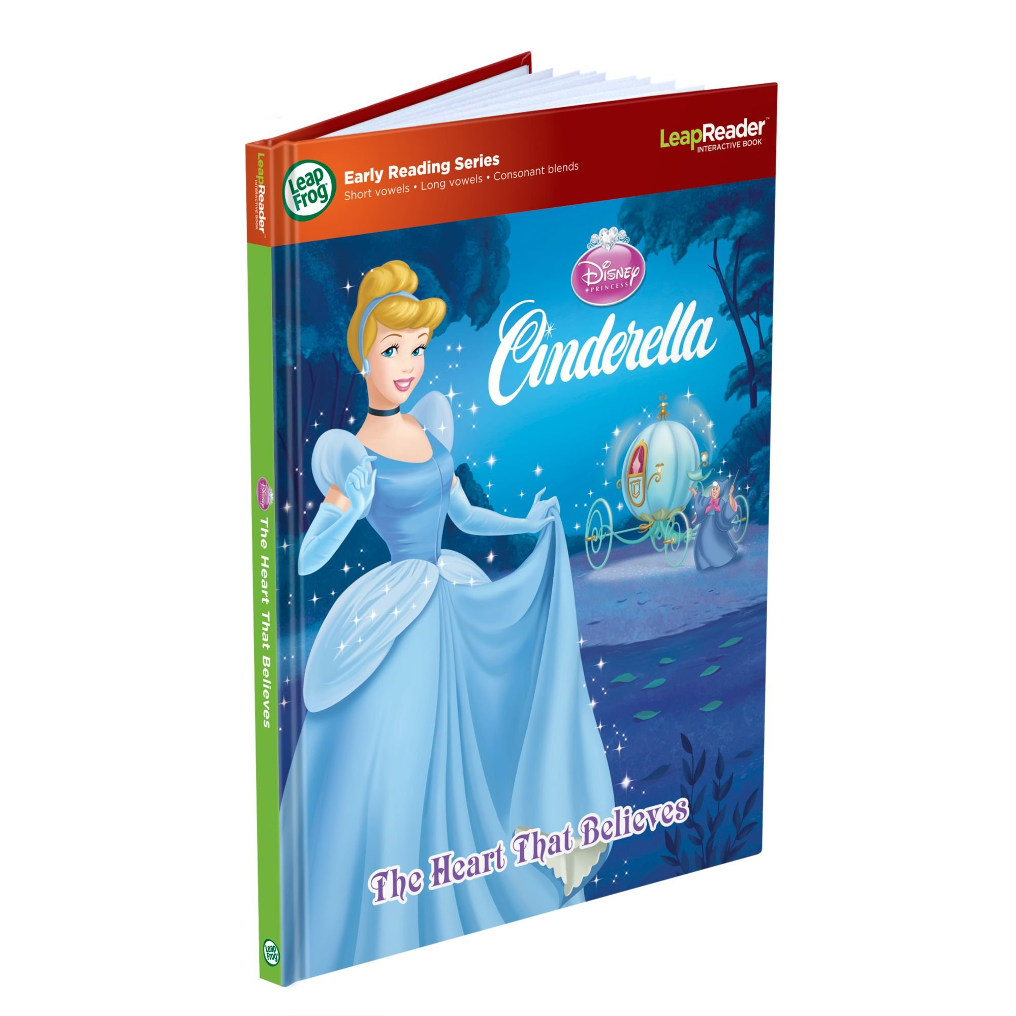 LeapFrog LeapReader Book: Disney Cinderella: The Heart That Believes (works with Tag) by LeapFrog