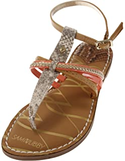 5d085bc60 Sam   Libby Women s Kylie Strappy Thong Sandal