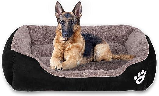 FRISTONE cama para perros grandes, lavable, cama para mascotas ...