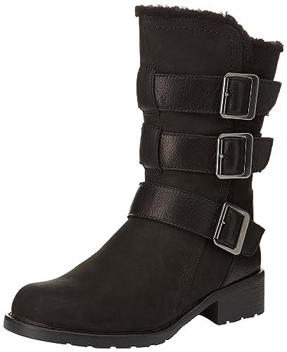 Clarks Orinoco Bloom, Women's Boots, Black (Black Combi), 4 UK (