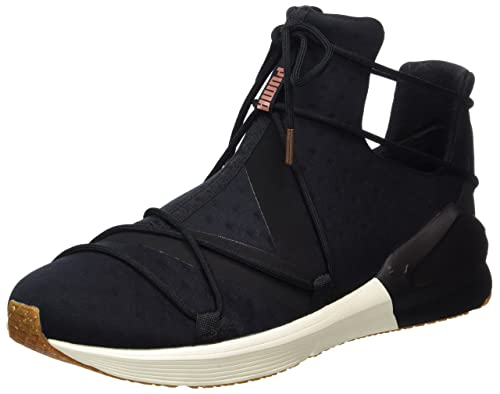PUMA Women Fierce Rope VR Hi Sneaker Black, Shoe Size:EUR 40.5