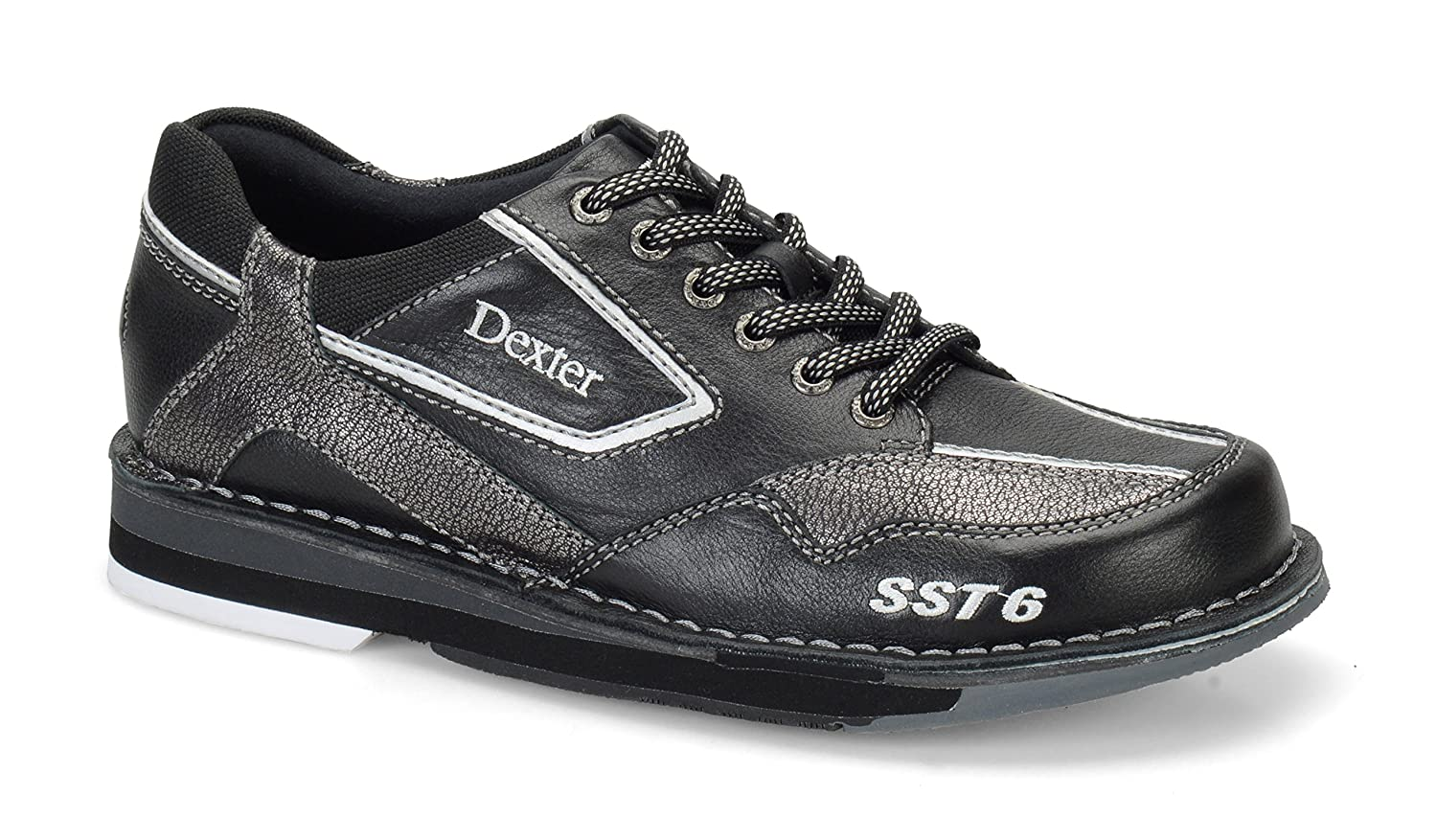 Dexter SST 6 LZ Wide Bowling Shoes B00ZBW2W5I 11.0|Black/Alloy