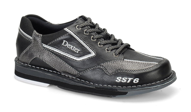 Dexter SST 6 LZ Wide Bowling Shoes B00ZBW2VL8 8.5|Black/Alloy