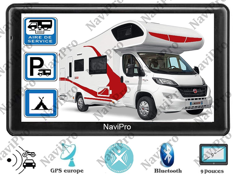 GPS Camping Car 9 Pouces (22cm) HD Europe A Vie